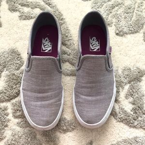 Slip-On VANS - Light Grey Heathered